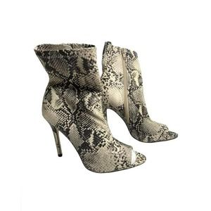 Call It Spring Snake Print Stiletto Ankle Boot
